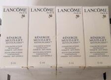 4 x Lancome Renergie Multi-Lift Reviva-Plasma Intense Concentrate 5ml each -20ml
