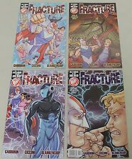 Action Lab: Fracture: Return of the Hero (2013) V2 #1-4 COMPLETE SET