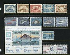 Greenland #35/232 (Gr611) All Different, See List, Mnh, Vf, Cv$219.00