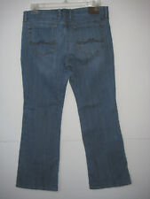 Lucky Brand Jeans Sweet N Low Bootcut Size 12 Ankle Womens