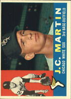 1960 Topps #346 J.C. Martin UER RC Face actually Gary Peters - NM