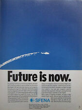 10/1988 PUB SFENA VELIZY FLIGHT INSTRUMENTS ELECTRONIC DISPLAYS HELICOPTERS AD