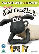 Shaun das Schaf - Die komplette 3. & 4. Staffel 5er [DVD] NEU Shaun The Sheep