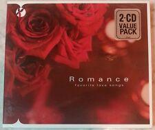ROMANCE: FAVORITE LOVE SONGS [Digipak] by Various Artists (2 CDs, 2008 - Canada)