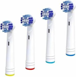 Alayna Replacement Brush Heads Compatible with Oral B Electric Toothbrush 4 Pack