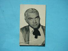 1947/66 TELEVISION & ACTORS EXHIBIT CARD PHOTO LORNE GREENE SHARP!! EXHIBITS