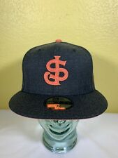 New Era 59Fifty San Jose Giants Heather Hype Fitted Hat 7 3/8 Dark Gray