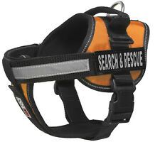 "SEARCH RESCUE Unimax Service Dog with Removable Reflective Patch Size 15"" - 46"""