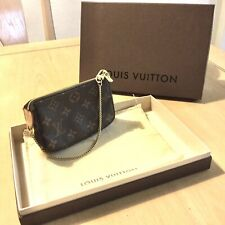 Authentic *LOUIS VUITTON* Monogram Mini Pochette Bag w/ Original Dust Bag & Box