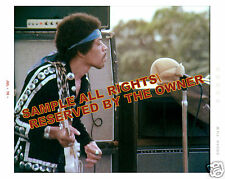 JIMI HENDRIX PHOTO     (New) IN MAUI JULY, 1970  8 BY 10 LARGE SNAPSHOT FORMAT