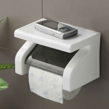 Wall Mounted Plastic Waterproof Toilet Roll Paper Box Holder Bathroom Tool