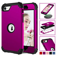 For Apple iPhone SE 2 2020 Hybrid Hard Bumper Protective Rugged Rubber Case
