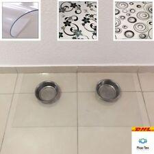Napfunterlage 2mm Transparent Futterunterlage - 3 Motive in 4 Maßen erhältlich