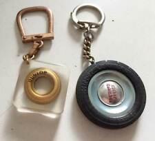 2 porte clés automobile Pneux Kléber Colombes / Dunlop ( Bourbon )