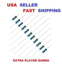 10 Pieces Resistor Pick Value 0 Ohm 56m Ohm With 1 14w Metal Film Usa Seller