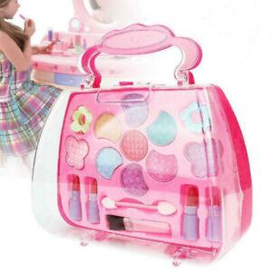 Makeup Sets Girls Make Up Box Glitter Eye Shadow Lipstick Cosmetic Kids Gift