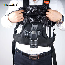 Commlite CS-S20-H1 Rain-proof Camera Carrying Vest Holster for DSLR Canon Nikon
