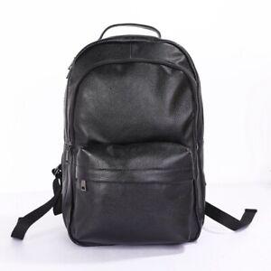 New leather men's backpack large capacity travel bag backpack computer backpack