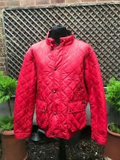 Original POLO RALPH LAUREN red quilted Designer country casual jacket size XXL