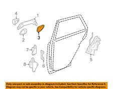 MERCEDES OEM 06-12 R350 Front Door-Handle, Outside Pad Left 1697660505