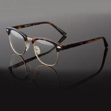 Clear Lens Fashion Glasses Retro Horn Rim Nerd Geek Men Women Hipster Eye Frame