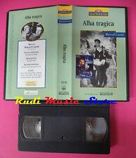VHS film ALBA TRAGICA Marcel Carne' 1995 PANTMEDIA maestri cinema (F145) no dvd