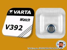 3 x Varta V392 SR41W 1,55V SR41 Silver Oxide Silver Button Cell Watch Batteries