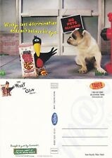 NABISCO CORN NUTS UNUSED ADVERTISING COLOUR POSTCARD (a)