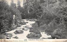 Sitka Alaska c1910 Postcard Indian River