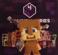Minecraft OBSIDIAN Series 4 Steve with Arrow Damage Blind Mystery Mini Figure