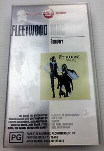 Fleetwood MAC Rumours, VHS Video Cassette Tape PAL PG