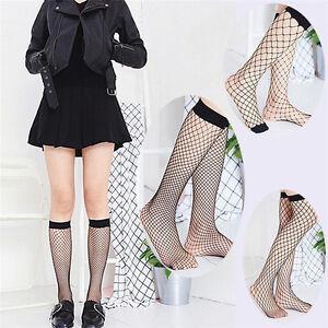 Women Ruffle Fishnet High Socks Mesh Lace Fish Net Short Socks Stockings Summ ZC