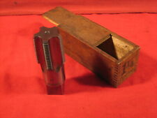 "Vintage Holroyd & Co. Waterford, Ny 1-1/4"" Pipe Tap w/Box"