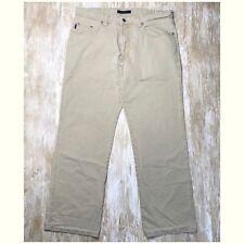 MAC Jeans - BRAD Vintage Wash Khaki Pants - MENS 34x30 - 5 pocket