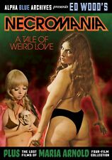 ED WOOD'S NECROMANIA & THE LOST FILMS OF MARIA ARNOLD-4 FILMS