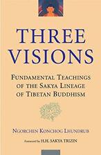 Three Visions: Fundamental Teachings of the Sakya Lineage of Tibetan Buddhism.