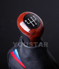 AU STOCK Glassy BURL WOOD Effect 5 Speed Manual Gear Knob for BMW MT E36 E46 Z3