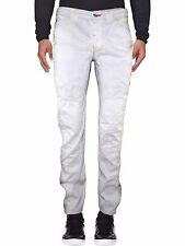 Pantalone uomo bianco MASON'S dritto cotone tg it 46 de 40 w 32 nuovi arrivi