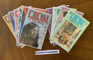 Dark Horse Comics  CHEVAL NOIR Lot Of 11 ( 3,20,21,27-34 ) FN-VG
