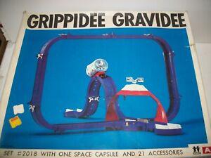 Vintage Tomy GRIPPIDEE GRAVIDEE SET 2018 w/ Space capsule & Dome in orig box NIC