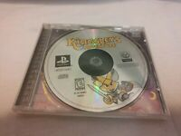 Kingsley's Adventure (Sony PlayStation 1, 1999) Case and Game No Manual