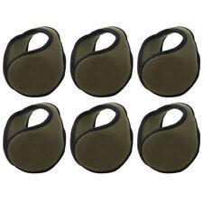 6 Olive Green Fleece Ear Warmer Solid Fleece Men Women Kids Ear Muff
