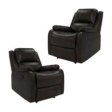 """2 RecPro™ Charles 30"""" RV ZWR Zero Wall Recliner Chair Chestnut RV Furniture"""