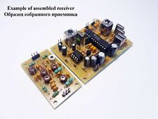 Simple Dual-band HF Receiver 20m/80m. Kit for assembly.