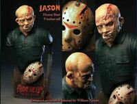 Jason - Friday the 13th - The Final Chapter Unpainted Horror Bust