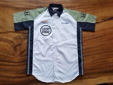 Vintage HONDA BAR Lucky Strike F1 Formula One Mechanics team issue shirt