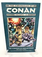 Chronicles of Conan Volume 15 Corridor of Mullah-Kajar Dark Horse Comics TPB New