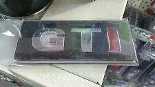 Red/Silver  3D GTi  Emblem Badge OEM QUALITY G46