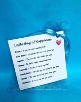 Little Bag Of Happiness Survival Kit Keepsake Personal Gift Anniversary