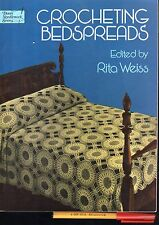 CROCHETING BEDSPREADS Rita Weiss 48 page Fine CROCHET Projects & PATTERNS Galore